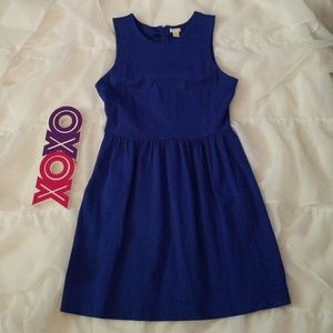 J CREW cotton sleeveless dress